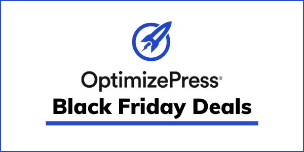 OptimizePress Black Friday Deals 2020 [GET 70% OFF]
