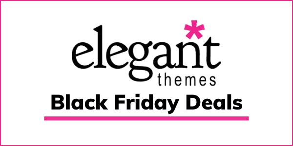 Elegant Themes & Divi Black Friday 2020 [25% OFF Sale]