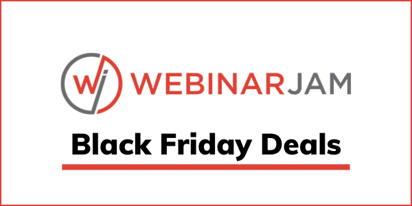 WebinarJam Black Friday Cyber Monday 2020 [GET 25% OFF]