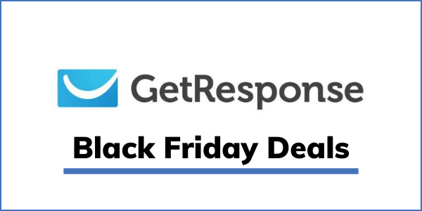 GetResponse Black Friday 2020 [GET 40% OFF Deal]