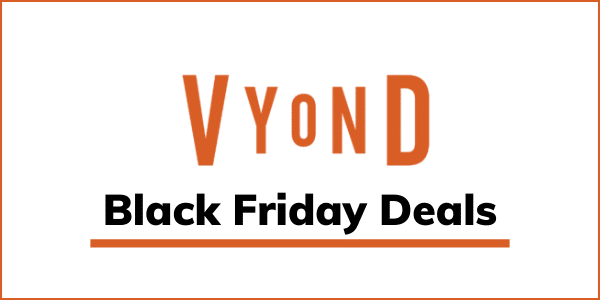 Vyond Black Friday Cyber Monday Deals 2020 [Get 49% OFF]