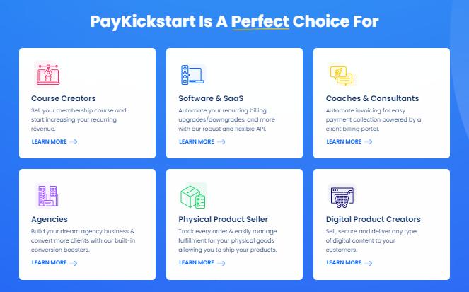 PayKickstart Best For